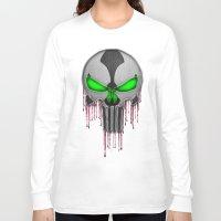 Punisher Spawn Mash-Up Long Sleeve T-shirt