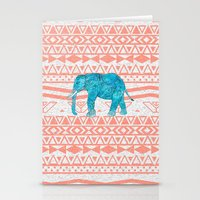 Elephant Blues Stationery Cards