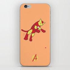 The Invincible IronCat iPhone & iPod Skin