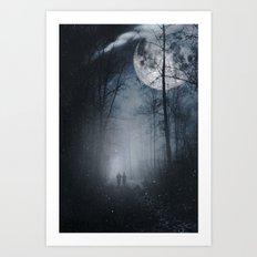 moon walkers Art Print