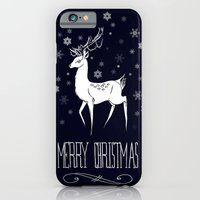iPhone & iPod Case featuring Christmas by Lily Art