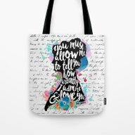 Mr. Darcy - Ardently Adm… Tote Bag