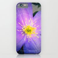 iPhone & iPod Case featuring FLOWER N71 by Theo Body