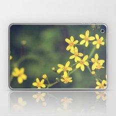 yellow bursts Laptop & iPad Skin