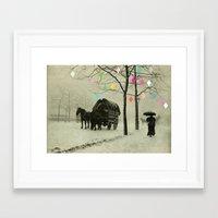 Christmas Day Framed Art Print