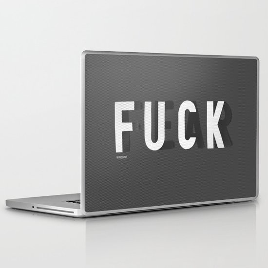 Fuck Fear Laptop & iPad Skin