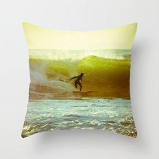 Pete's Wave Throw Pillow