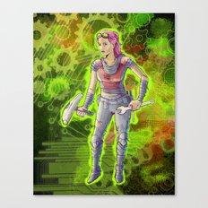 Steampunk Goddess Canvas Print