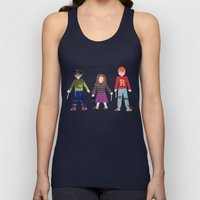 Harry, Hermione, and Ron Unisex Tank Top