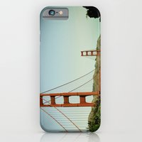 iPhone & iPod Case featuring The Golden Gate Bridge at Day by Josh Hudnall