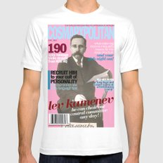 COSMARXPOLITAN, Issue 11 White Mens Fitted Tee SMALL
