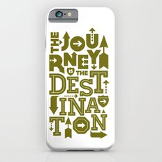 Army Green Journey Quote Slim Case iPhone 6s