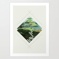 Scotland And Other Place… Art Print