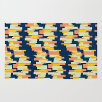 BP 62 Rectangle Stripes Rug