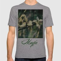 Magical Spring Mens Fitted Tee Athletic Grey SMALL