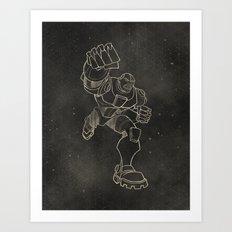Teen Titans: Cyborg Art Print