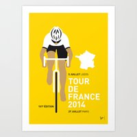My TOUR DE FRANCE Minima… Art Print