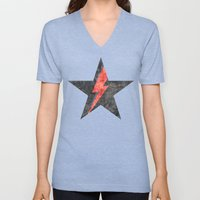 BlackStarMan (waiting In… Unisex V-Neck