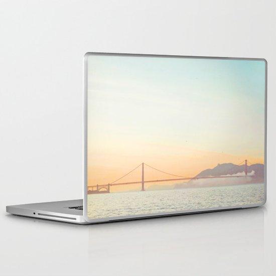 Pastel Golden Gate Laptop & iPad Skin