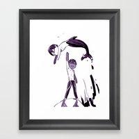 Free Haru Framed Art Print