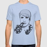 Snake Charmers S1E2 Mens Fitted Tee Athletic Blue SMALL
