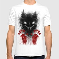 Bloody Hands Mens Fitted Tee White SMALL