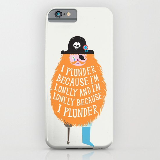Lonely Pirate iPhone & iPod Case