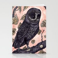 Pink Hunter Stationery Cards