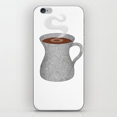 cement mixer hipster mug - coffee cup series iPhone & iPod Skin