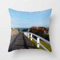 Walkway To Byron Bay, Au… Throw Pillow