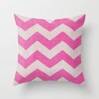 Candy Stripe Throw Pillow