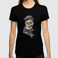 The Beauty of the Long-Dead Womens Fitted Tee Black SMALL