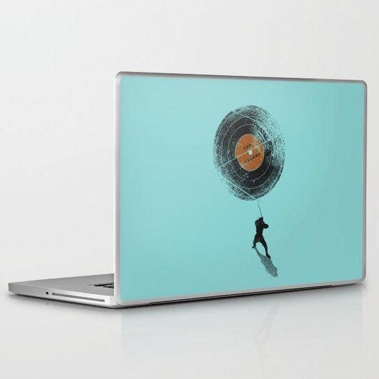 Record Breaker Laptop & iPad Skin