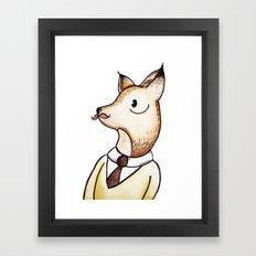 Master Fox Framed Art Print