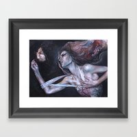 Rythmia Framed Art Print