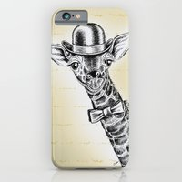 iPhone & iPod Case featuring I'm too SASSY for my hat! Giraffe. by TheCore