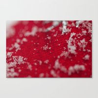 Christmas Snowflake Canvas Print