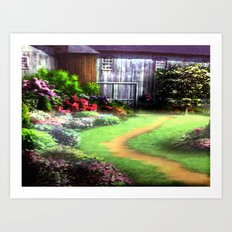 Landscape Heaven Art Print