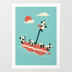 Float On Art Print