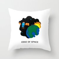 The Other Window Throw Pillow