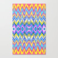 Ethnic Patterned Phone C… Canvas Print
