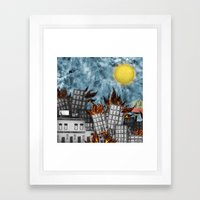 Hell Fire & McDonalds Framed Art Print