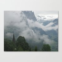 Falling Clouds 1 Canvas Print