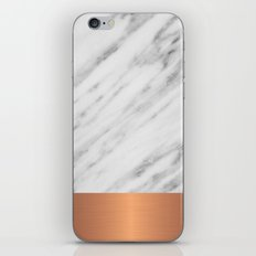 Carrara Italian Marble H… iPhone & iPod Skin