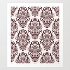 wallpaper design Art Print