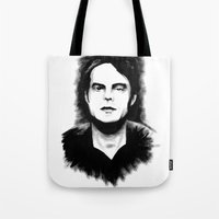 DARK COMEDIANS: Bill Hader Tote Bag