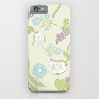Flower Pattern iPhone 6 Slim Case