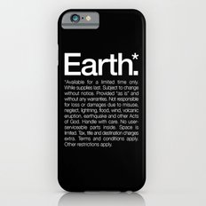 Earth.* Available for a limited time only. iPhone 6s Slim Case