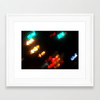 Glass Resolution Framed Art Print