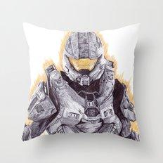 Halo Master Chief Throw Pillow